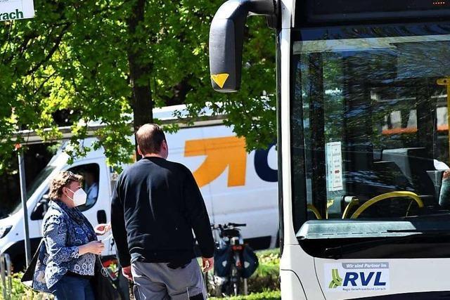 Regio Verkehrsverbund Lörrach fehlen 1,5 Millionen Euro Einnahmen