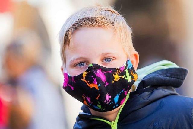 Die Maskenpflicht gilt auch für Kinder ab sechs