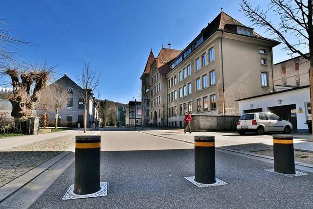 In Lörrachs größtem Gymnasium werden die Räume knapp