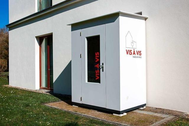 Eine Erfindung aus Bad Säckingen ermöglicht Altenheimbesuche
