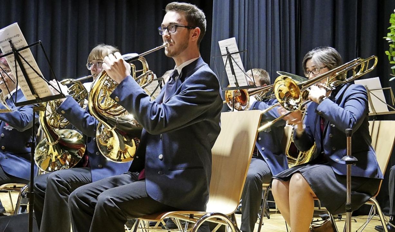 Der Musikverein Öflingen besteht seit ...m  wohl nicht in großem Stil gefeiert.  | Foto: Michael Gottstein