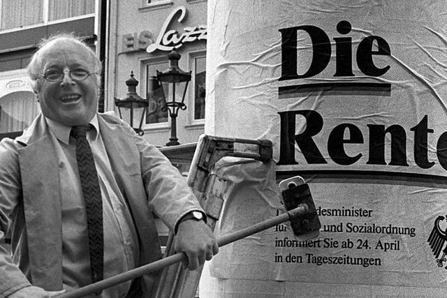Norbert Blüm war einer, der sich durchboxte