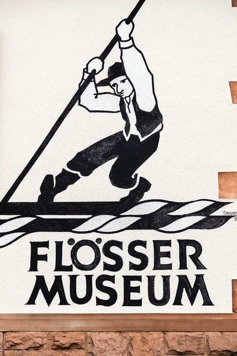 Flößerei war harte Arbeit gepaart mit Handwerkskunst.  | Foto: Michael Wissing