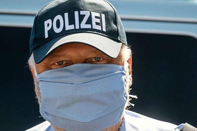 Ab Montag werden mehr maskierte Polizisten im Kreis Lörrach unterwegs sein