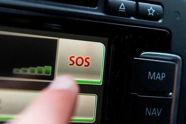 Auto-Notruf bringt Polizei auf Spur von betrunkenem Fahrer