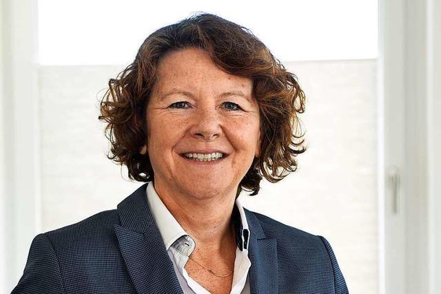 Anja Simon ist die erste Frau an der Verwaltungsspitze der Uniklinik