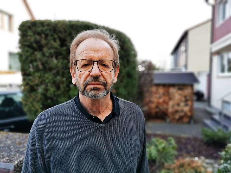 Peter Abtmeier, Sozialkundelehrer. Er ... der dunklen Stadtgeschichte gegraben.    Foto: Manuela Müller