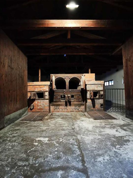 Das Krematorium von Dachau    Foto: Manuela Müller