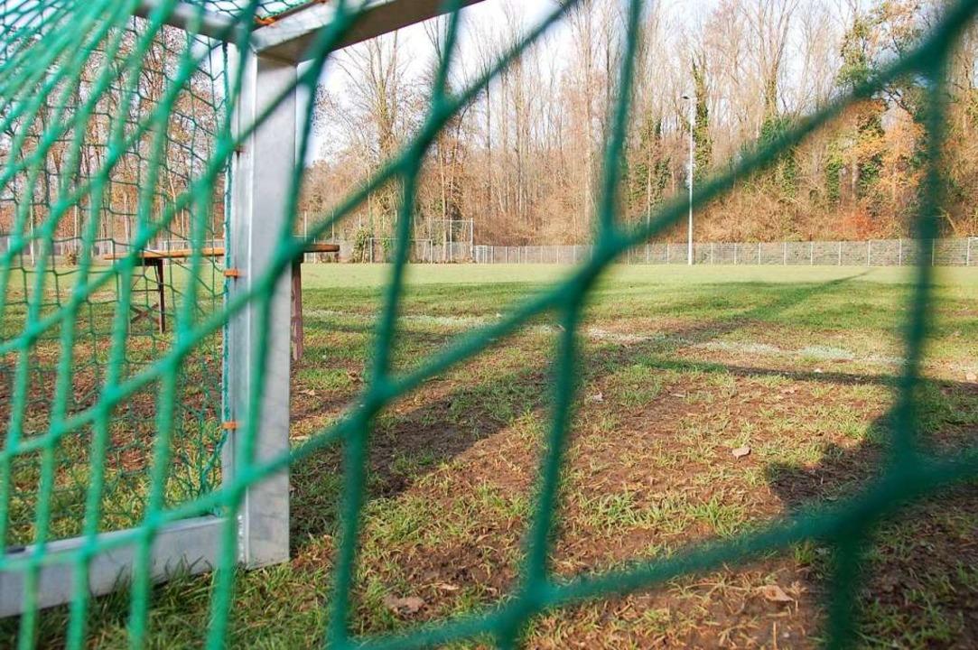 Beim FV Haltingen wird bald umgebaut.  | Foto: Herbert Frey