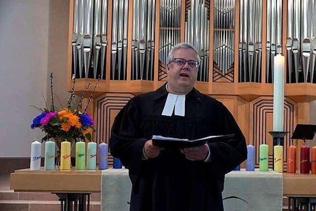 Video: Evangelischer Gottesdienst aus der Stadtkirche Schopfheim am 26. April 2020