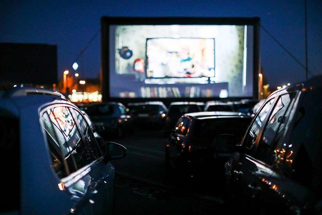 Kino durchs  Autofenster – das s...s  bald auch in Grenzach-Wyhlen geben.  | Foto: Jan Woitas (dpa)