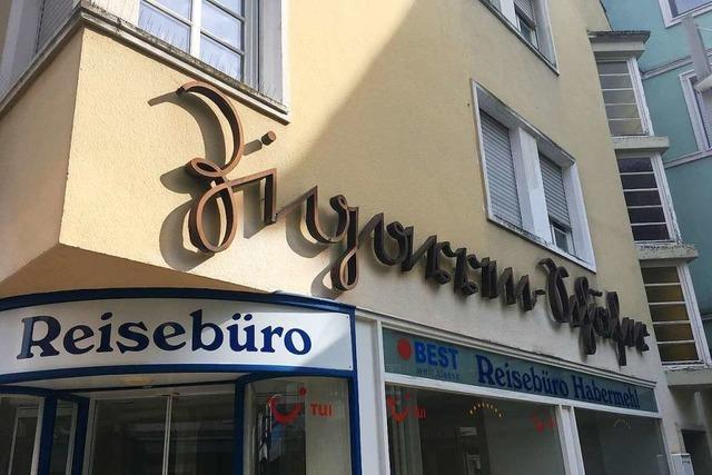 Im ehemaligen Reisebüro Habermehl soll ein Feinkostgeschäft öffnen