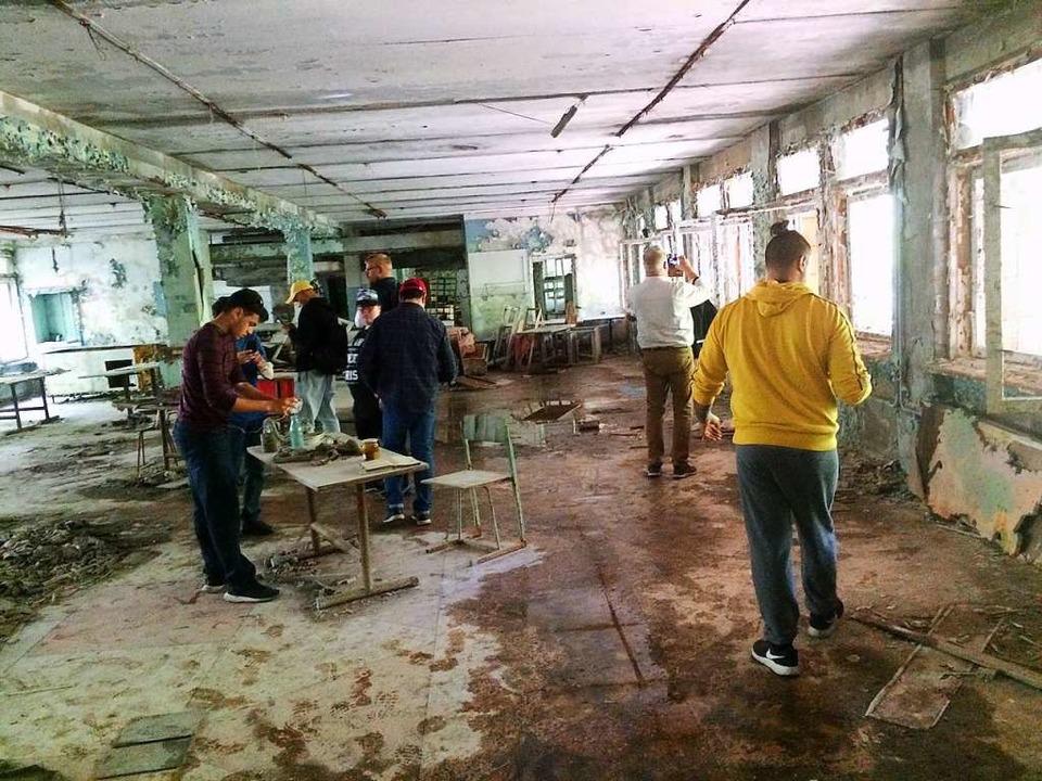 Tschernobyl wird zu einer Touristenatt...t selbst bei einem Besuch dort erlebt.  | Foto: Stefan Scholl