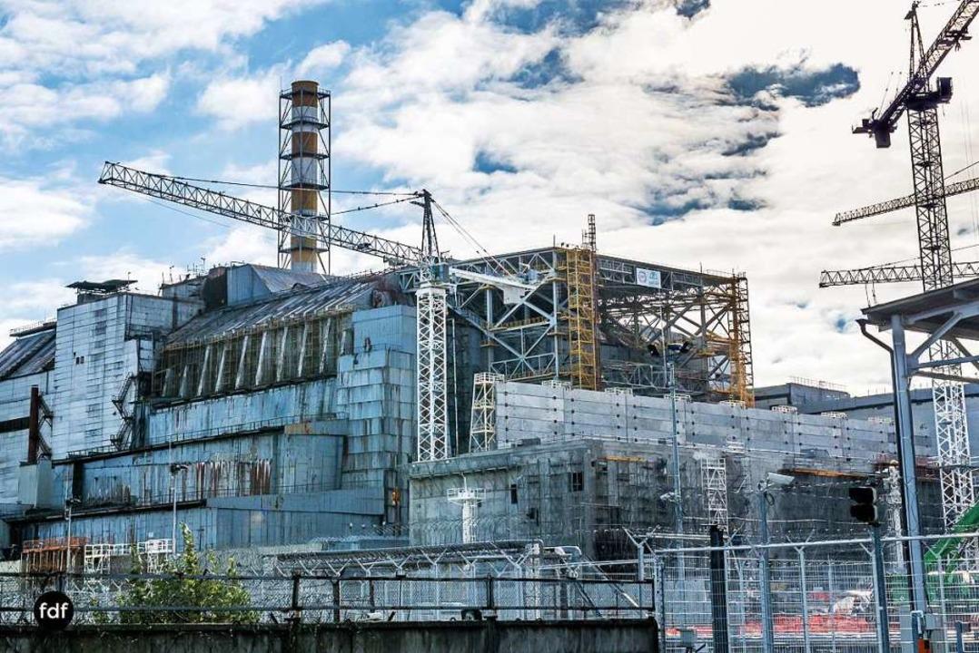 Das Unglücks-Kraftwerk in Tschernobyl.  | Foto: Flo Döhmer