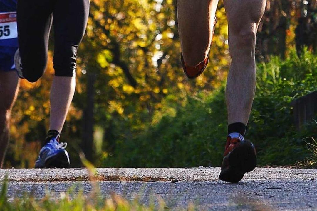 Joggen im Rebberg (Symbolfoto) kann gefährlich sein.    Foto: Patrik Müller