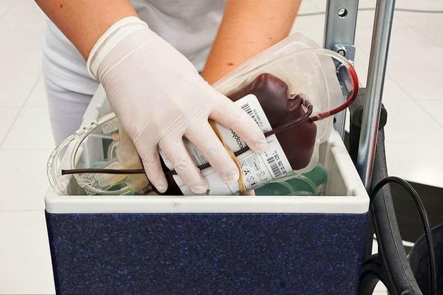 Blutspendeaktion an fünf Tagen in der Geroldseckerhalle – mit Anmeldung