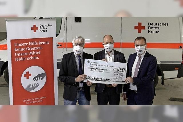 Spende an den DRK-Kreisverband
