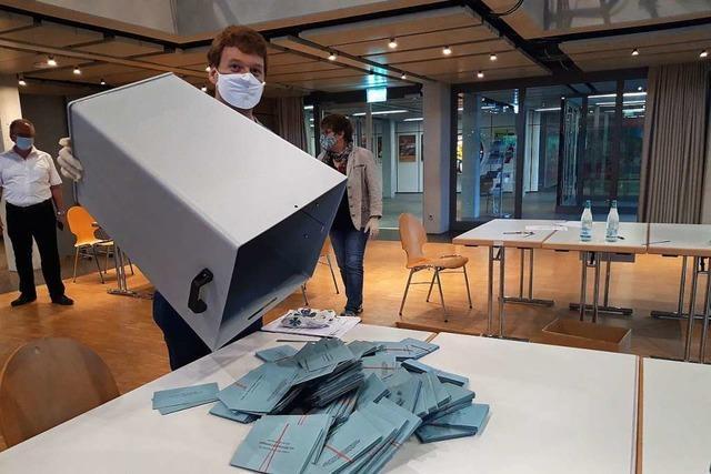 Liveticker zum Nachlesen: Eberhardt mit 5879 Stimmen in Rheinfelden wiedergewählt