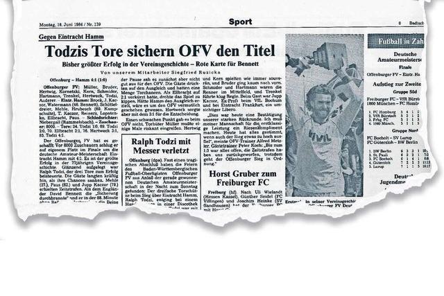 Nach turbulenter Saison wurde der Offenburger FV deutscher Amateurmeister