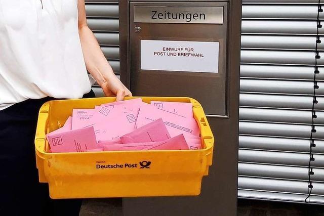 Analyse: Fast alle Wähler nutzen in Rheinfelden die Briefwahl