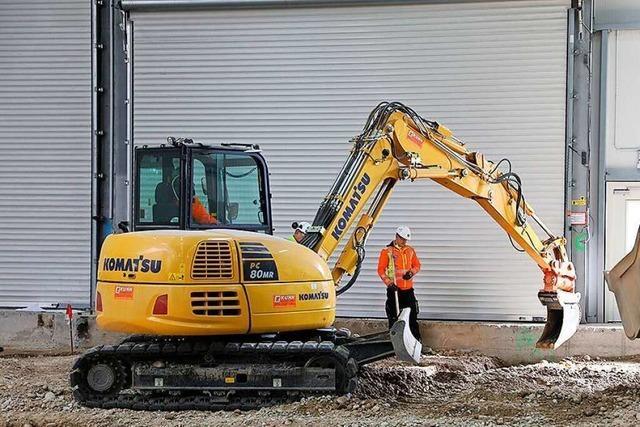 Roche sagt Baustellentag in der Kesslergrube Grenzach-Wyhlen ab