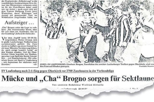 Wie der SV 08 Laufenburg vor 2700 Zuschauern in die Verbandsliga aufstieg