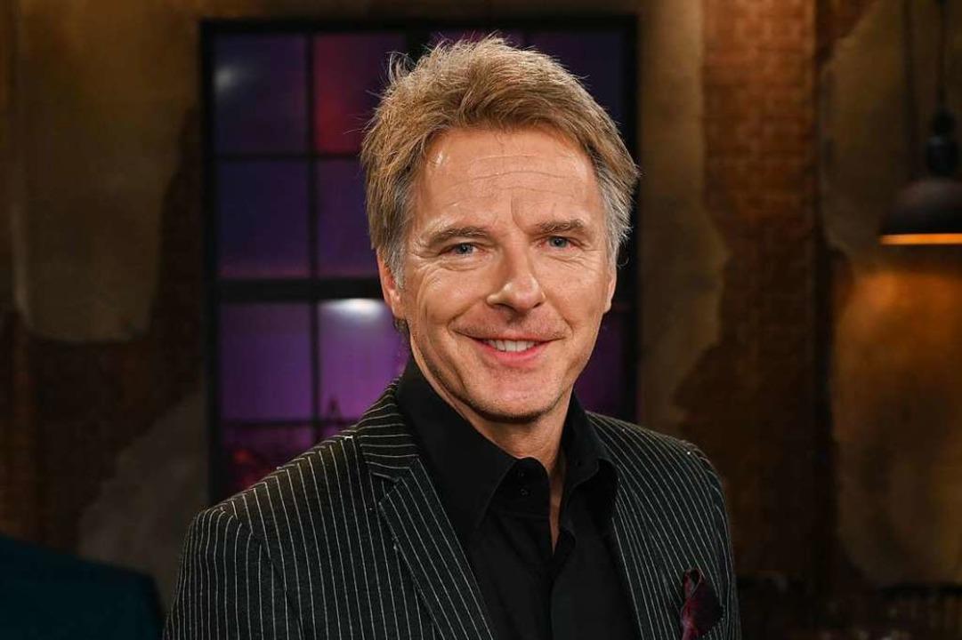 TV-Moderator Jörg Pilawa.  | Foto: Henning Kaiser