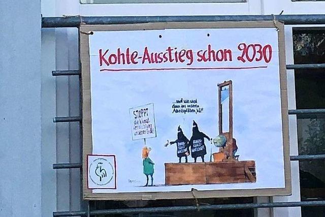 Auch in Hochdorf war am Freitag Online-Klimastreik