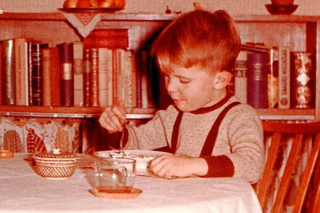 Gutes Essen war ihm schon immer wichti... einer historischen Aufnahme von 1955.  | Foto: Walter Riemann
