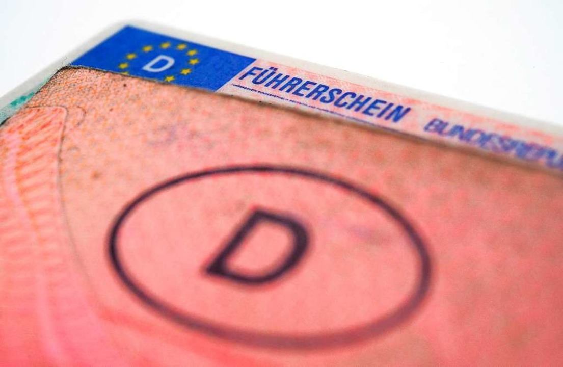 Der Führerschein dürfte nach der erste...rstunde erstmal in weiter Ferne sein.     Foto: Andrea Warnecke (dpa)