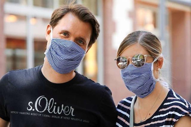 Der Großteil der Lahrer hält sich an die Maskenpflicht