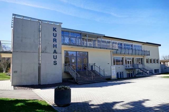 Das Kurhaus Kirchzarten wird zum Filmstudio
