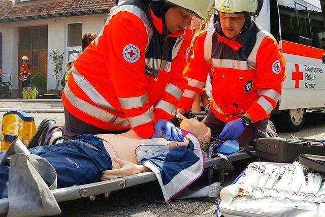 Wenn der Rettungswagen länger braucht, sind die Helfer vor Ort zur Stelle
