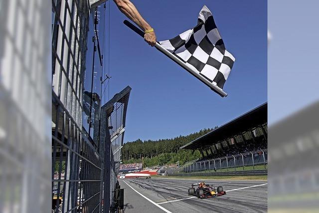 Die Formel 1 macht Tempo