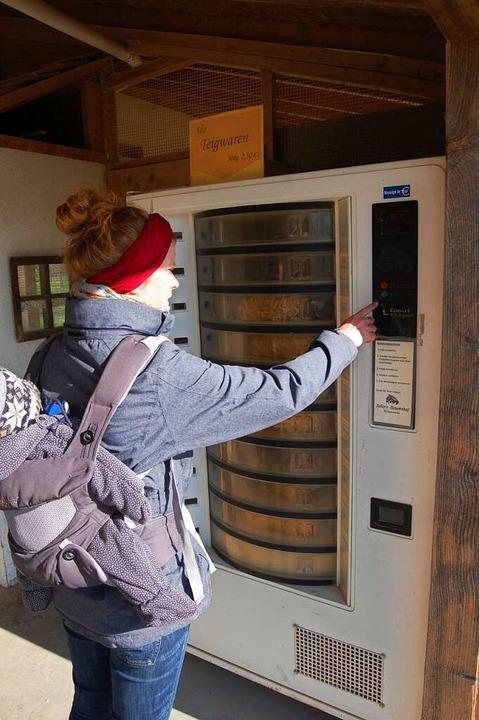 Zellers Nudel-Automat am Geflügelhof war der erste im Ried  | Foto: Hagen Späth