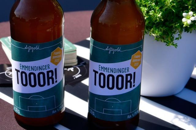 Bier aus Emmendingen ist mit einem Schuss Elz-Quellwasser angereichert