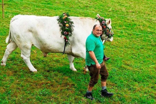 Als Landwirt und Metzger schlagen bei Ulrich Reichenbach zwei Herzen in der Brust
