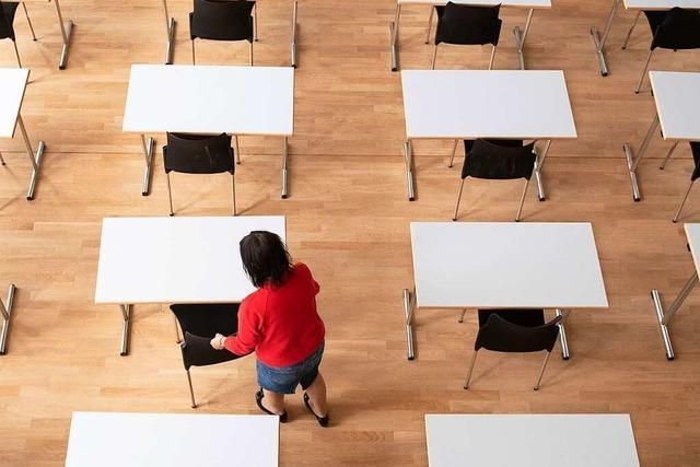 Abschlussjahrgänge starten am 4. Mai mit Unterricht