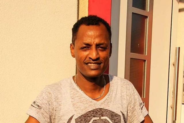 Bruk Negasi kam als Flüchtling – jetzt arbeitet er als Altenpfleger in Bötzingen
