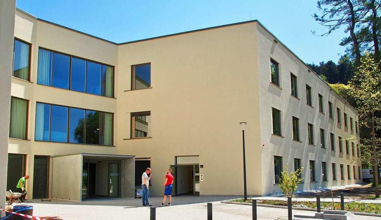 Das neue Michaelhaus an der Friedrich-...steht vor der baldigen Fertigstellung.  | Foto: Markus Donner