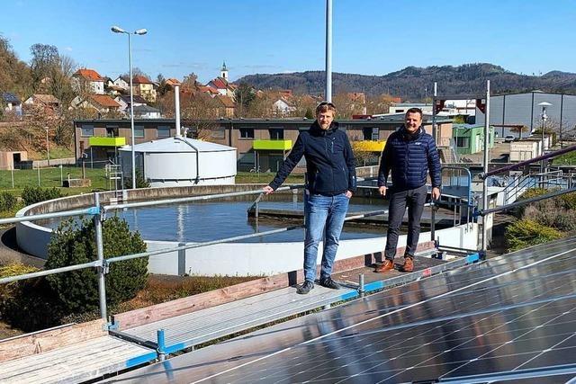 Kläranlage Murg bekommt zweite Photovoltaikanlage
