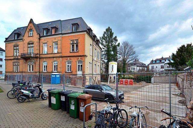 Bauarbeiter finden menschliches Skelett in der Freiburger Wiehre