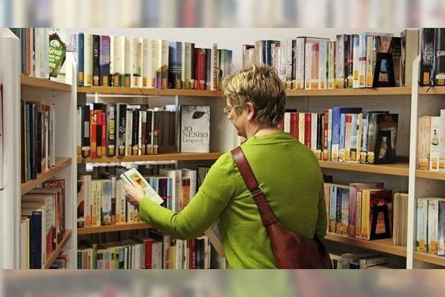 Bald wieder neuer Lesestoff aus der Bücherei