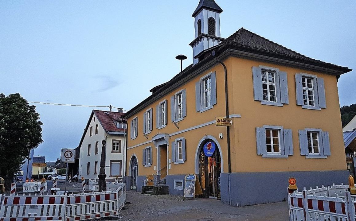 Das alte Rathaus von Maulburg, eine Pe...tille Reserve im Besitz der Gemeinde.   | Foto: Gerald Nill