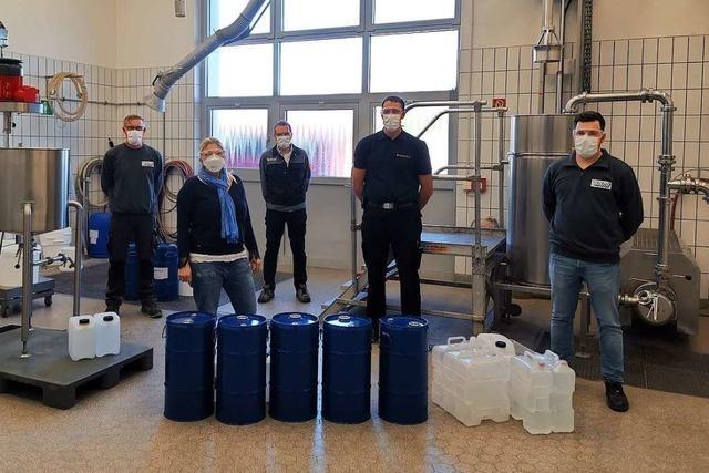 Wie alle anpacken, um Desinfektionsmittel für Heitersheim herzustellen