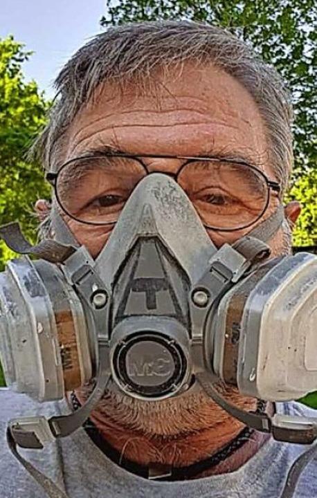 Maskenmenschen    Foto: Privat