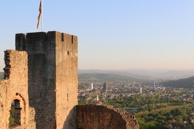 Auf der Burg Rötteln ist in der Corona-Krise nur ein Notbetrieb möglich