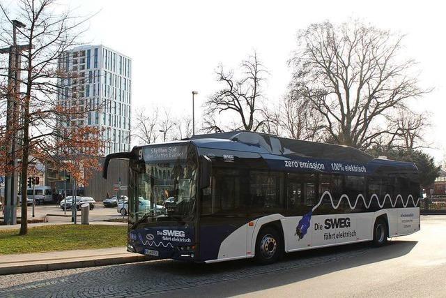 Lörrachs Elektrobus ist bei Fahrern und Fahrgästen beliebt