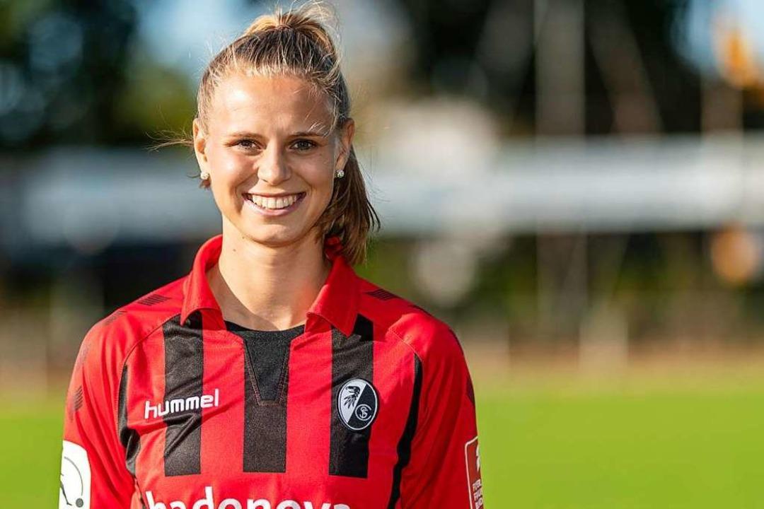 Klara Bühl reifte beim SC Freiburg zur Nationalspielerin.  | Foto: Patrick Seeger