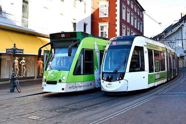 Trams und Busse in Freiburg fahren ab 4. Mai wieder häufiger